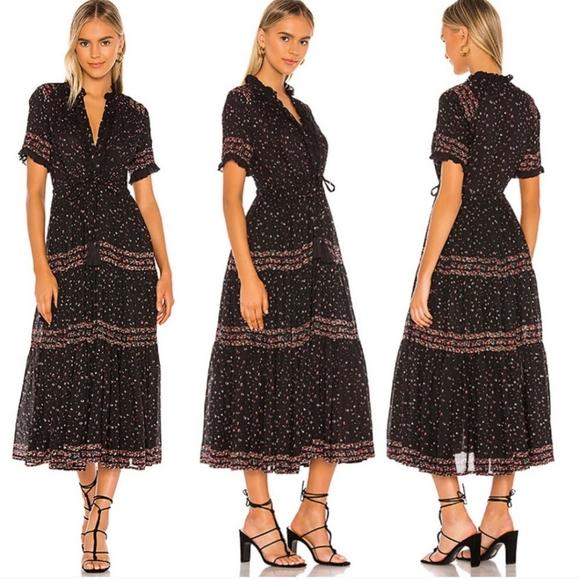NWT Free People Rare Feeling maxi dress